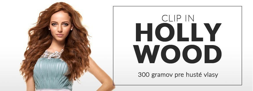 Clip in 300g HOLLYWOOD